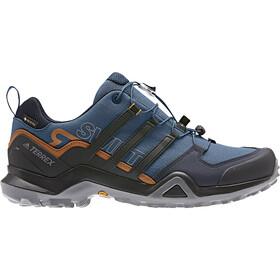 adidas TERREX Swift R2 Gore-Tex Zapatillas Senderismo Resistente al Agua Hombre, legend marine/core black/tech copper